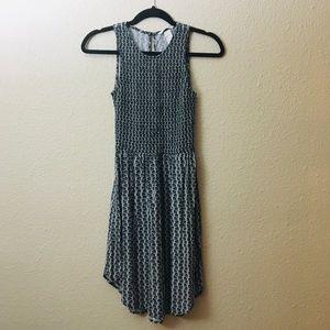 H&M Black & White Dress size 4